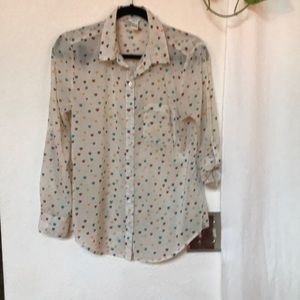 Valentine's Day top size small